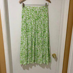 NWT Faithfull the Brand Pleat Skirt sz S